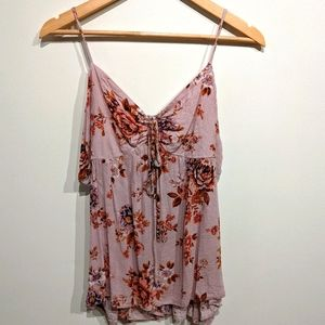 American Eagle Outfitters |Floral Tank Top